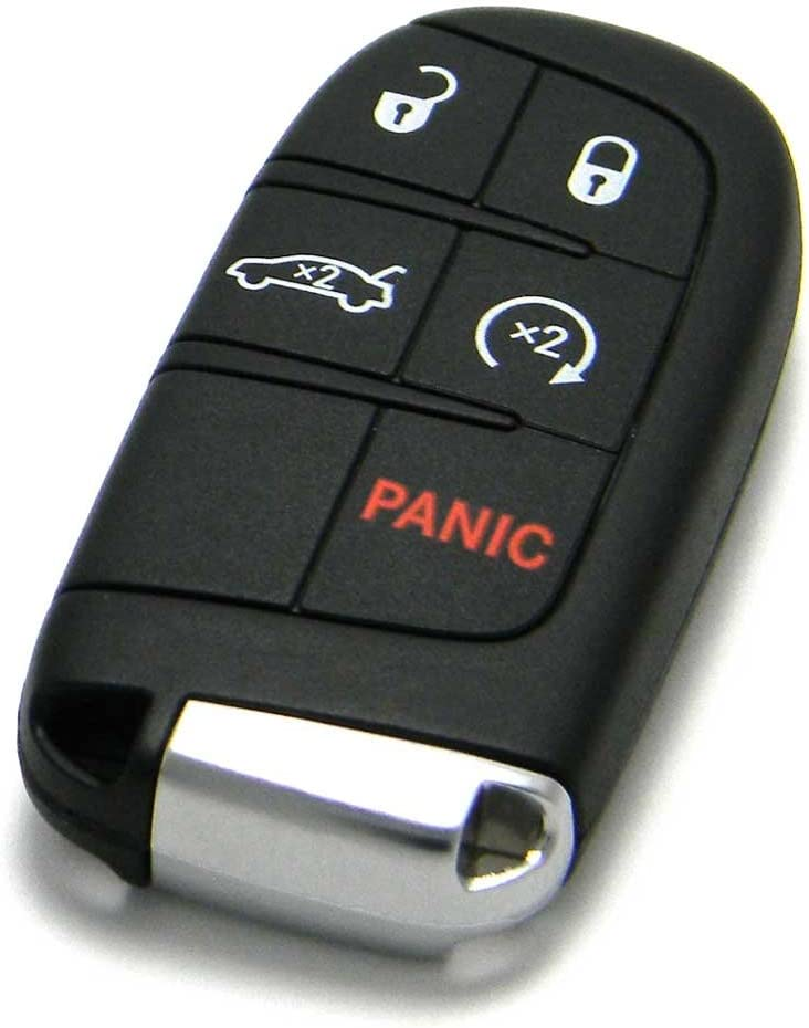 OEM Dodge Keyless Entry Remote Fob 5-Button Smart Proximity Key FCC ID: M3N-40821302 // P//N: 05026676