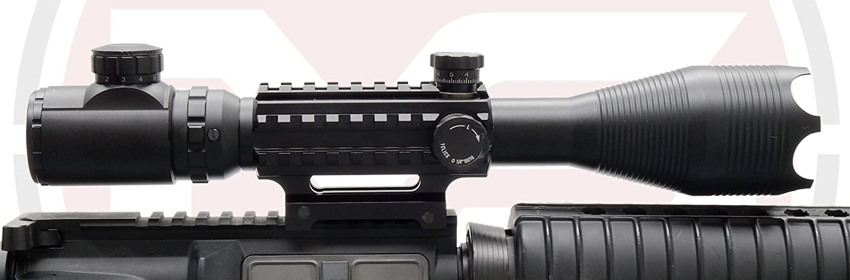 e136a70da90 SUS MONUMENTOS 4-16x50 Alcance del rifle con Táctico Rieles para TEJEDOR  Rieles: Amazon.es: Deportes y aire libre