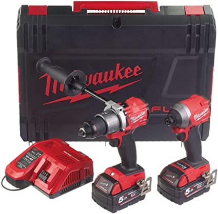 Milwaukee M18FPP2A2-502X Fuel Gen 3 Twin Pack: Amazon.es: Coche y moto
