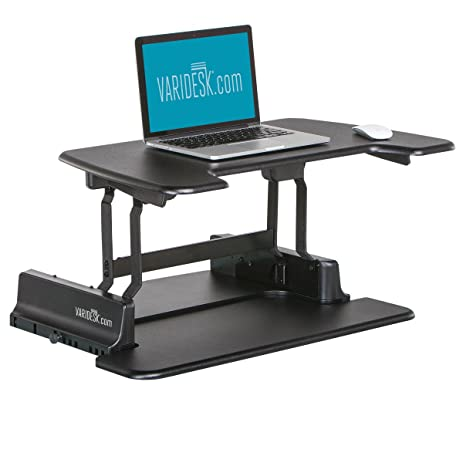 Amazoncom VARIDESK HeightAdjustable Standing Desk Laptop