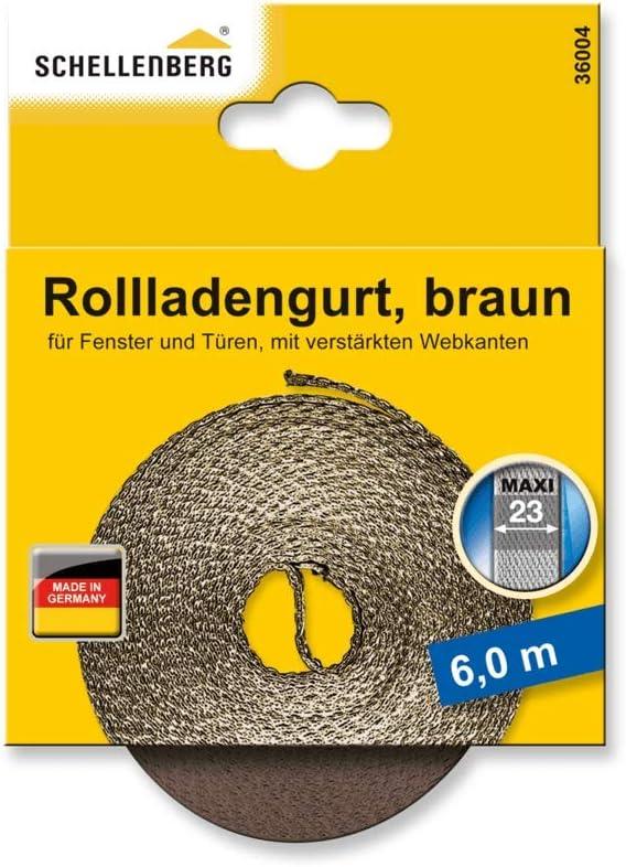 f/ácil de cambiar gris Schellenberg 31205 23 mm de ancho 12 m de largo