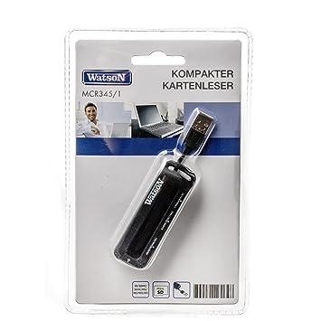 Watson USB 2.0 lector tarjeta mcr345/1 | lector de tarjetas ...
