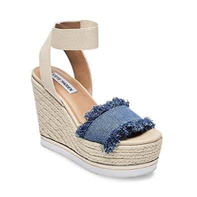 ef6050c547c5 Steve Madden Women s Venus Denim Fabric 10 ...