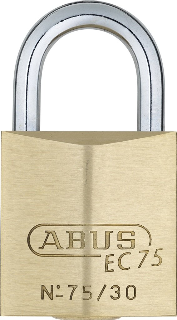 ABUS 75/30 KD B All Weather Solid Brass Keyed Different Padlock