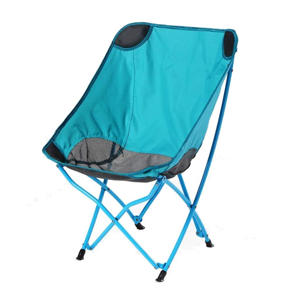Zatiz Silla De Camping Silla De Camping Portátil Conveniente para Acampar De La Pesca Que Acampa Ocio Al Aire Libre