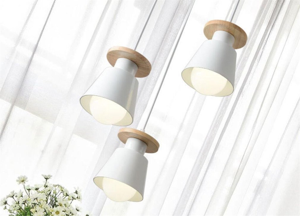 Amazon.com: LUCKY CLOVER-A Ceiling Light Chandelier Nordic ...