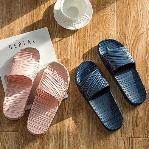with Foot Massage Bathroom Non Slippers Rojo Sandal Slipper and Men's Fashion Indoor Women Slipper Summer Slip vP45wq77