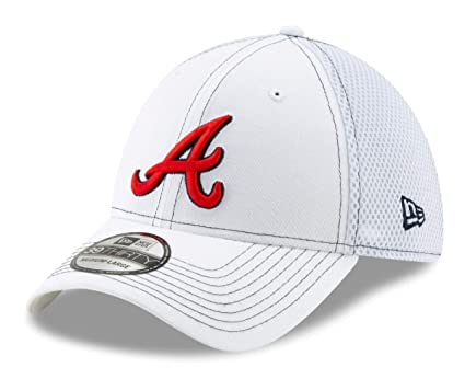 hot sales eb2a5 f7ae0 Image Unavailable. Image not available for. Color  New Era Atlanta Braves  MLB 39THIRTY ...