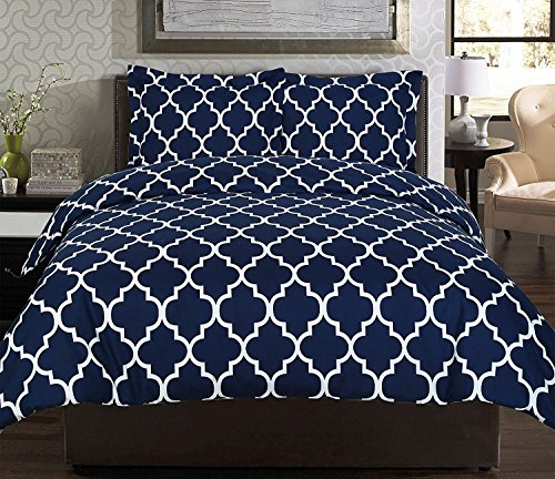 Utopia Bedding Printed Duvet Cover Set with 2 Pillow Shams
