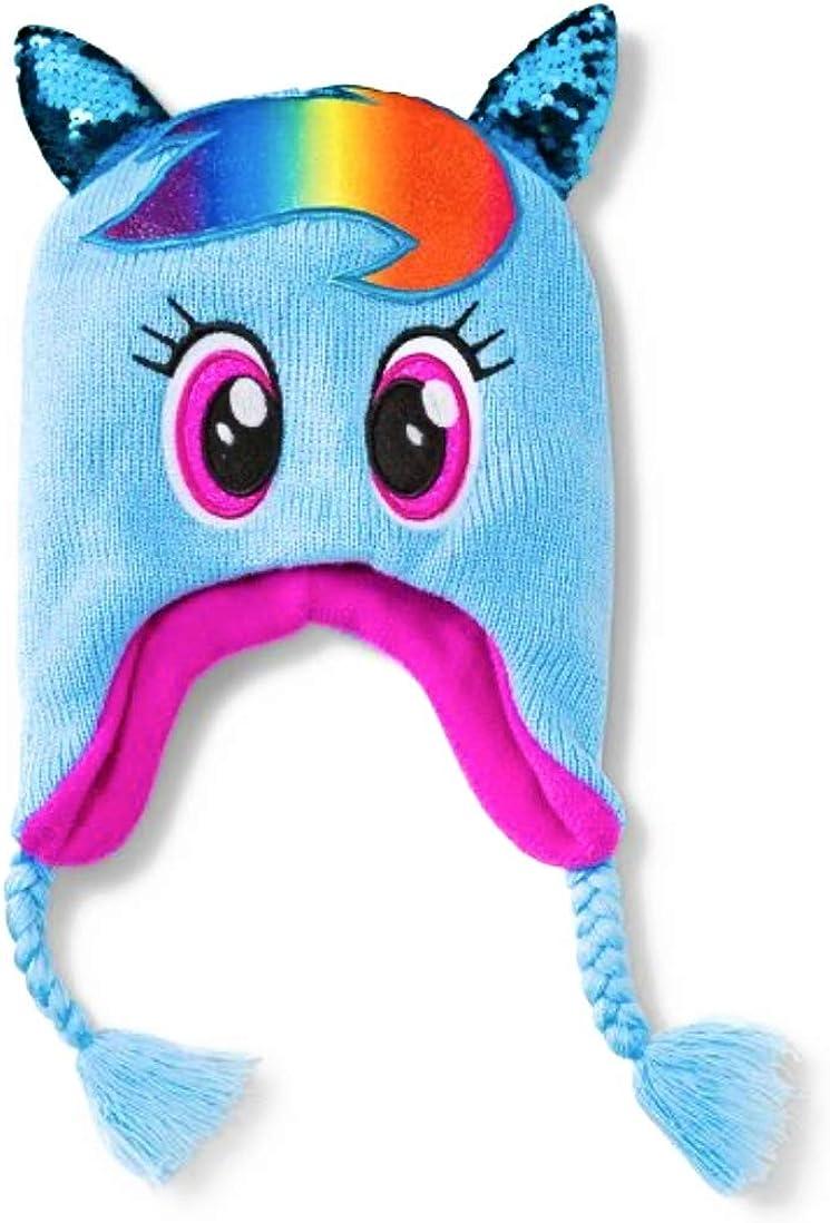 Blue One Size ToysZone.Biz My Little Pony Rainbow Dash Peruvian Beanie