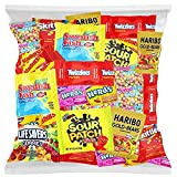 Candy Party Mix Bulk Bag of Skittles Swedish Fish Nerds Haribo Gummy Sour Patch Twizzlers Starburst Mike and Ike and more! by Variety Fun Net wt (48 oz)