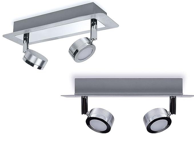 Juego de 2 LED de baño Leuchten lámpara de techo Schwenkbare ...