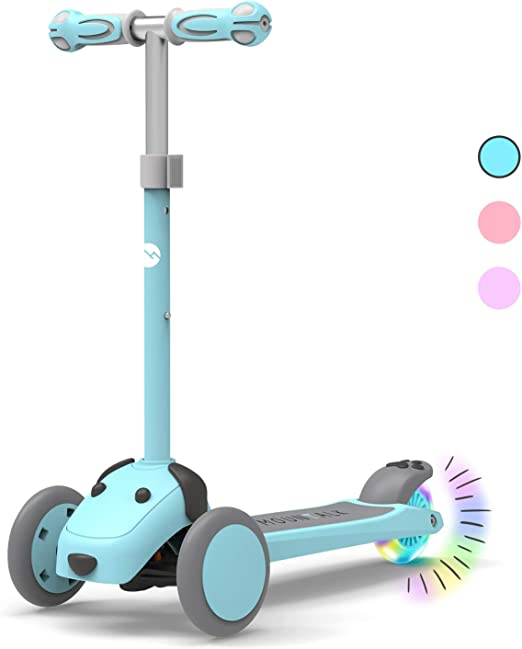 Mini Scooter Two Wheel Scooter Children/'s Educational Scooter Finger Toy T7R8
