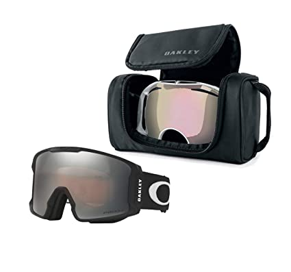 207be6cf05 Oakley Line Miner Snow Goggle (Matte Black Frame Prizm Black Iridium Lens)  with
