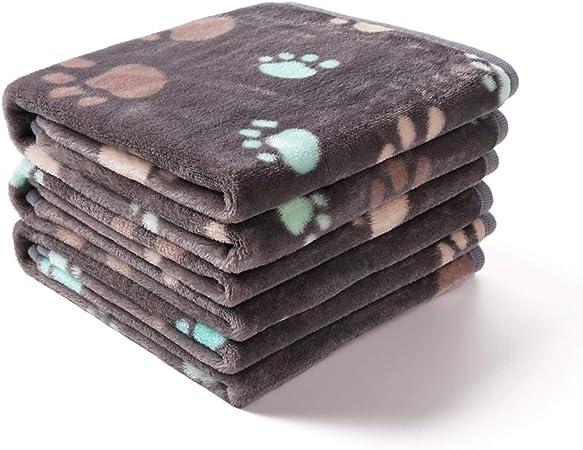luciphia 1 Pack 3 Blankets Super Soft Fluffy Premium Fleece Pet Blanket Flannel Throw for Dog Puppy Cat Christmas Large