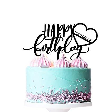 amazon com p lab personalized happy birthday custom name birthday