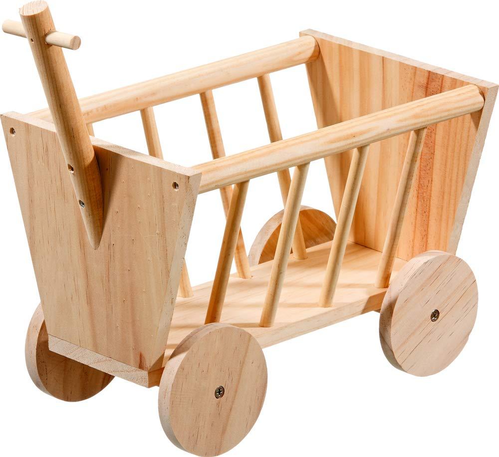 Karlie Wooden Hay Rack Handcart by Karlie