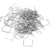 Keenso 100 stks 0.8mm Hot Nieten Lassen Nietjes, Auto Bumper Reparatie Pre Cut Carrosserie Plastic Lassen Nietjes…