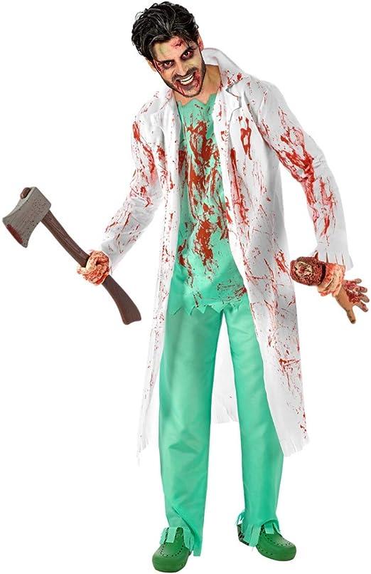 Horror-Shop Disfraz De Cirujano Zombie XL: Amazon.es: Juguetes y juegos