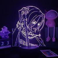 3D illusielamp LED Nachtlampje Anime Nana Voor Slaapkamer Decor Tafellamp Nana Osaki Illustratie Kids Kind Meisje Licht…