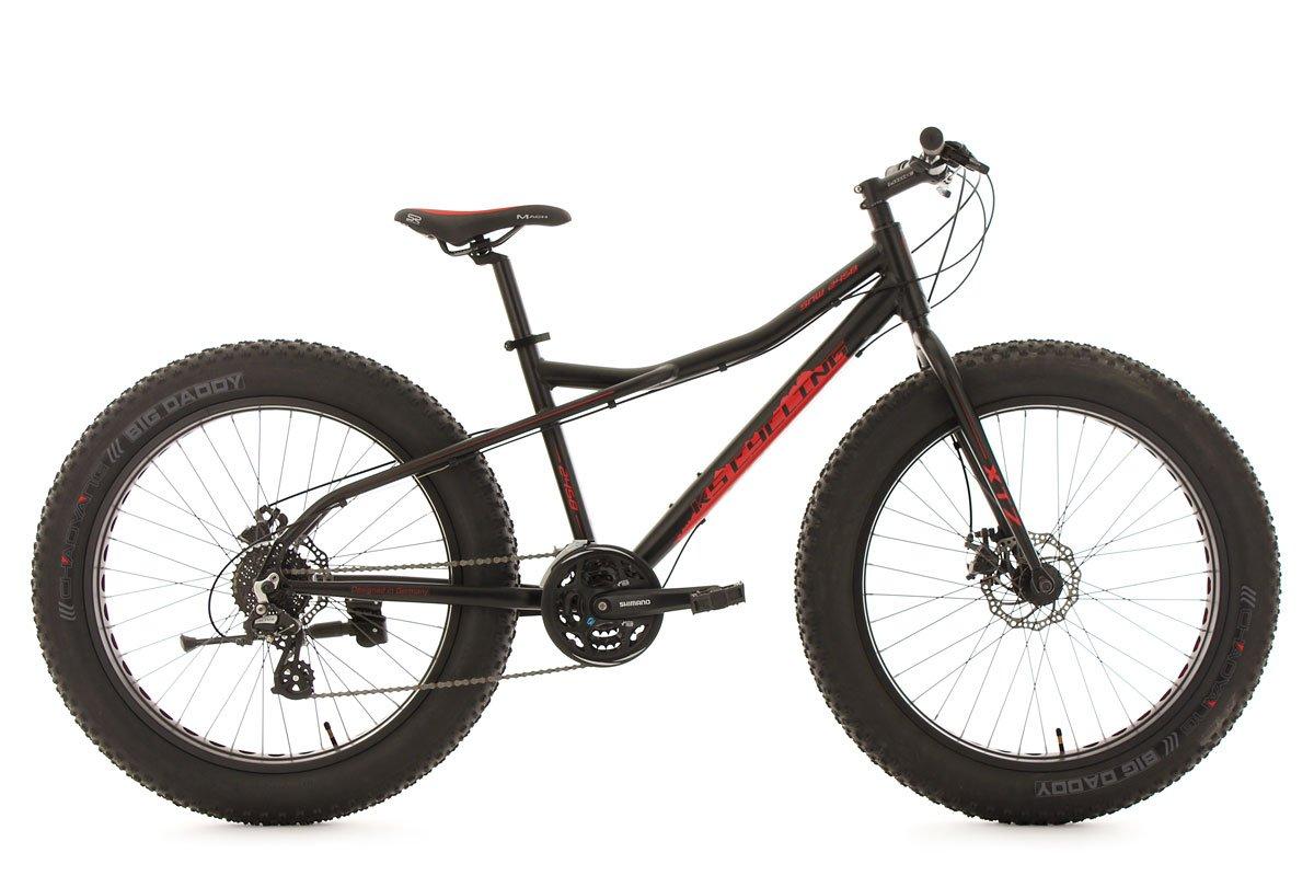 KS Cycling Fahrrad Mountainbike 26 Fatbike SNW2458 Aluminiumrahmen ...