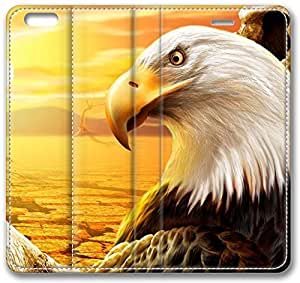 3D Eagle Cute Leather Case for iPhone 6