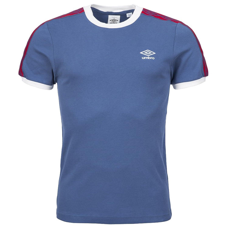 Black umbro t shirt - Umbro Classics Diamond Icons Ringer T Shirt Sky Blue Blue Blue Size Xxxl Amazon Co Uk Sports Outdoors