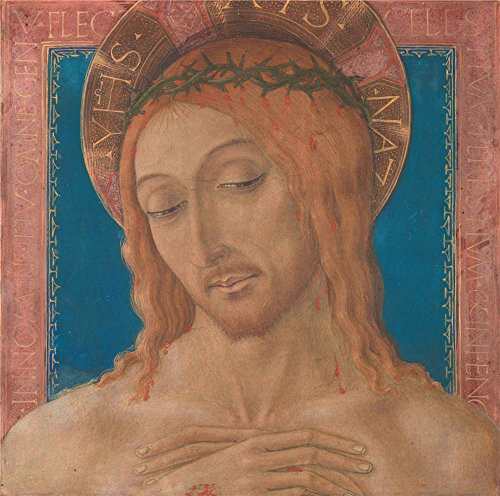 Paul Hobbs Napa - Oil Painting 'Christ Crowned With Thorns 1480-95, Matteo Di Giovanni' 10 x 10 inch / 25 x 26 cm , on High Definition HD canvas prints is for Gifts And Bar, Basement And Study Room Decoration