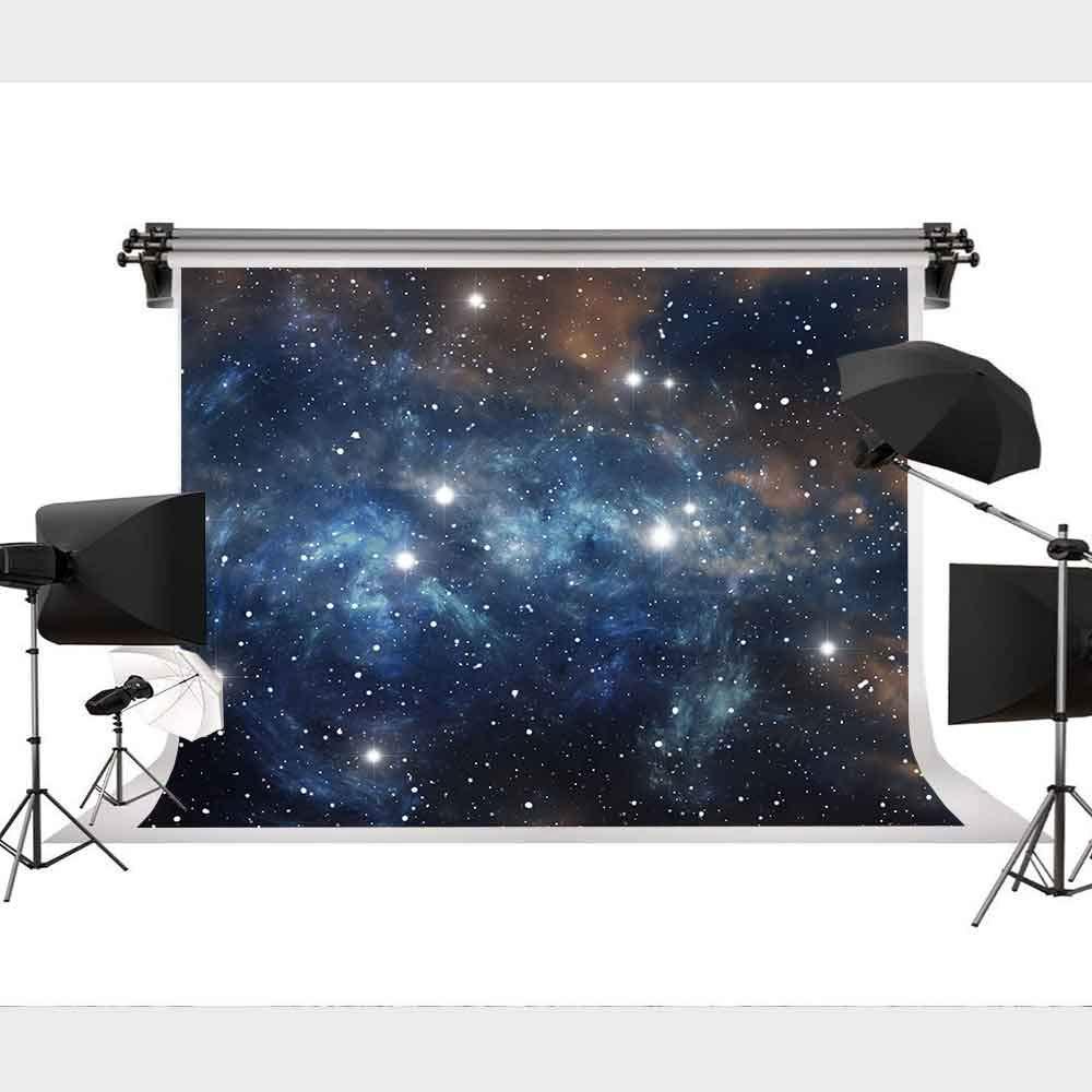 ライトブルーコズミックブルーギャラクシー背景写真背景幕パーティー写真装飾9x6フィートSTS XCST644   B07LBDJ432