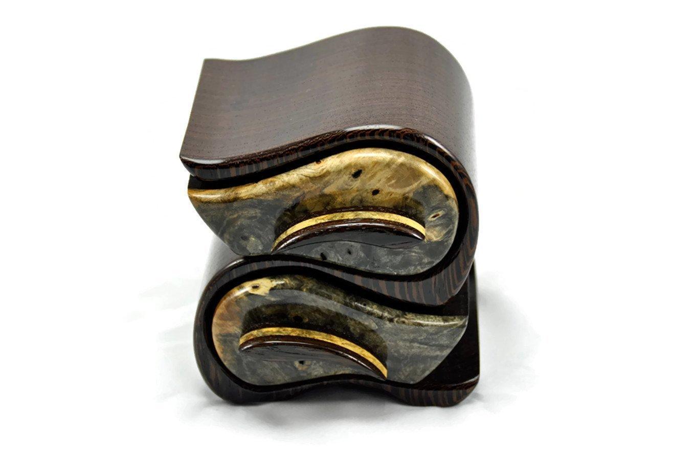 Jewelry Box in African Wenge & Buckeye Burl
