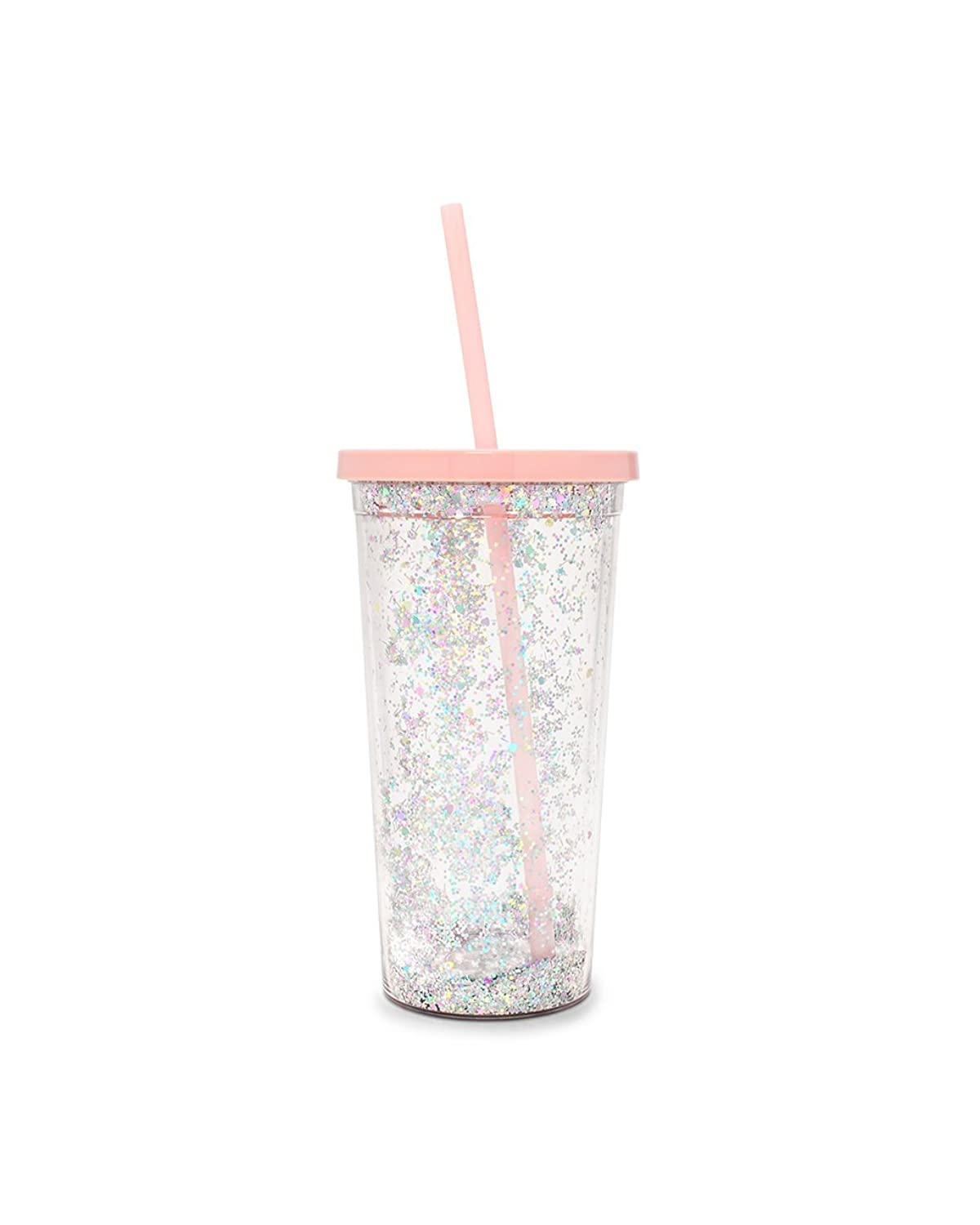 Ban.Do Women's Glitter Bomb Tumbler With Straw by Bando