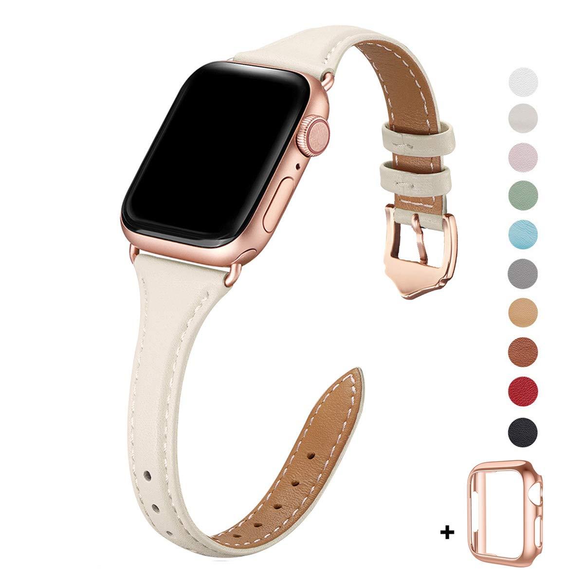 Malla Cuero para Apple Watch (38/40mm) WFEAGL [7T7H6NQH]