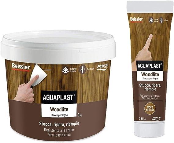Stucco per legno 125/ml 2282/Noce Aguaplast