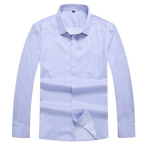 ZJEXJJ Camisas de los Hombres Camisetas Casuales Camisas Sueltas ...
