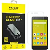 FOSO(™) Xiaomi Redmi 2 Prime / 2 / 2S/ 2.5D Curved Edge 9H Hardness Toughened Tempered Glass Screen Guard Protector
