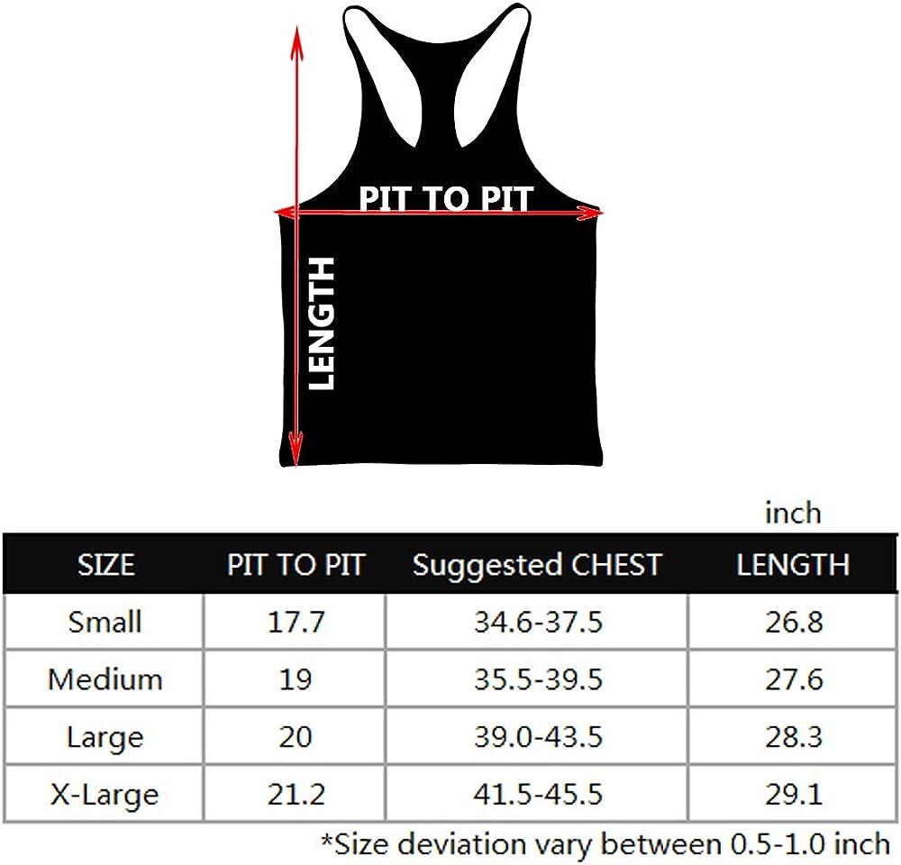 MUSCLE ALIVE Blank Bodybuilding Stringer Tank Tops Men Cotton Size XL Black