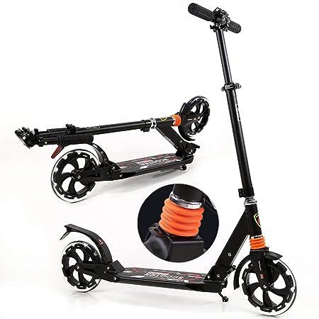 Patinete Adulto, Scooter de Empuje para Adultos con Doble ...