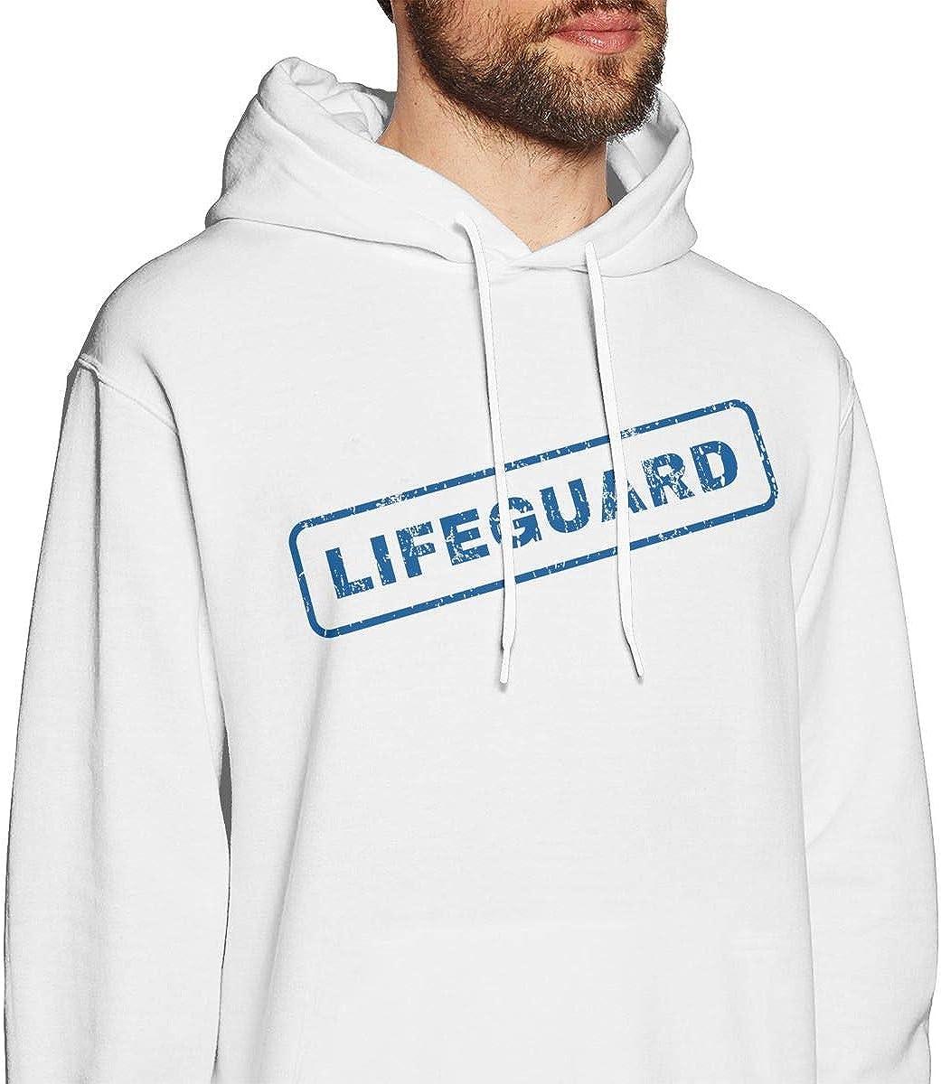 Lifeguard Mens Hoodie Sweatshirt