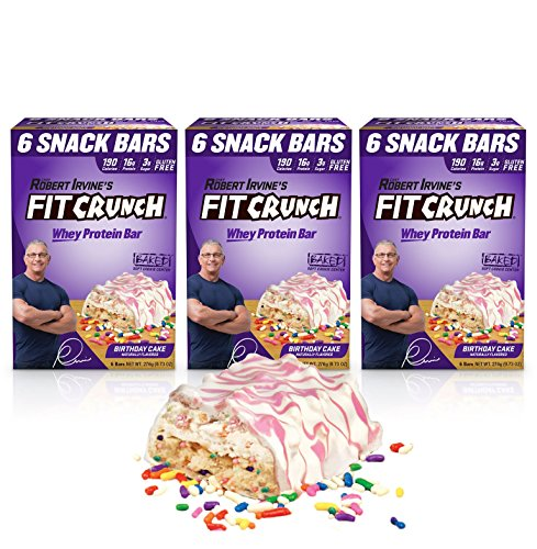 Amazon FITCRUNCH Snack Size Protein Bars