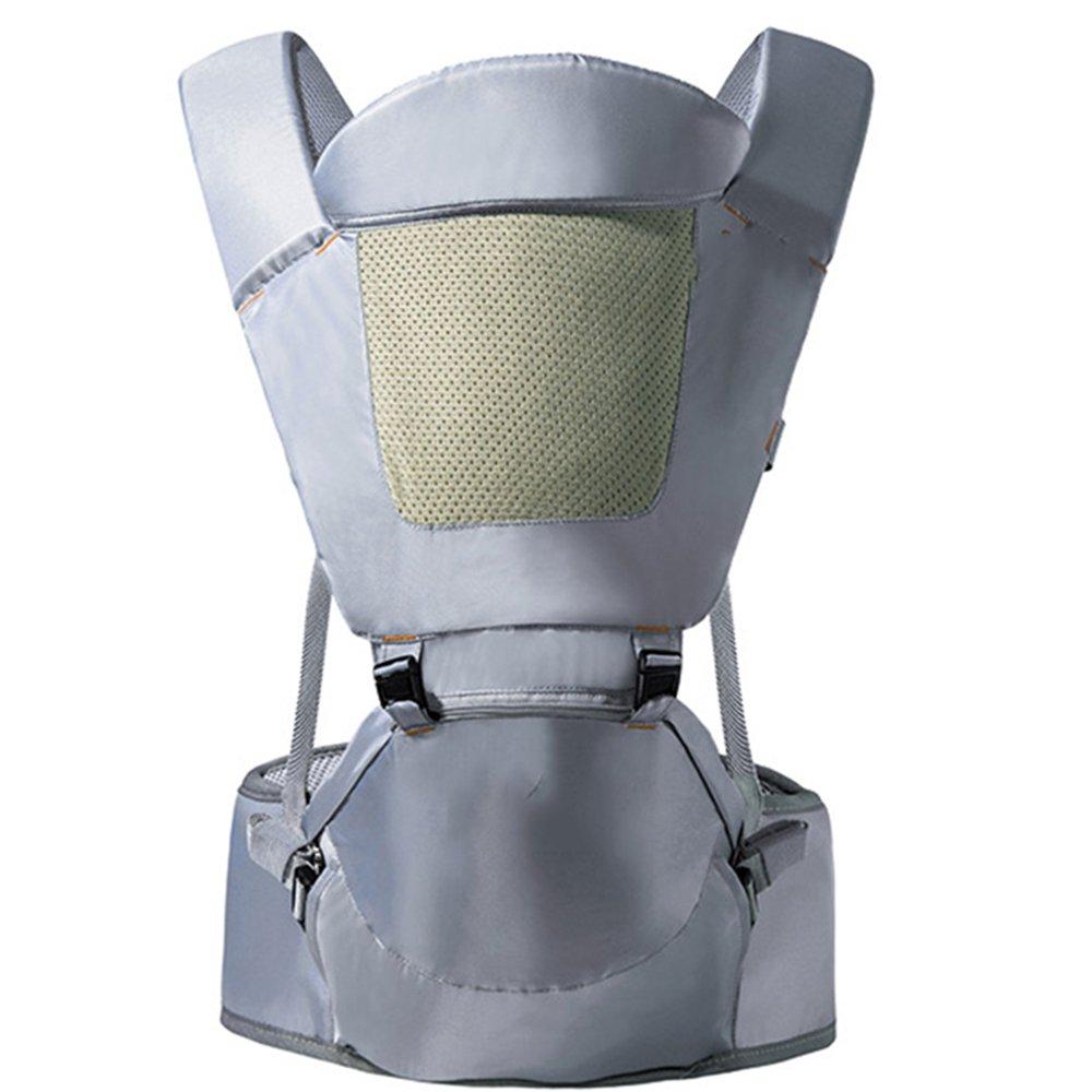 GLD Babytrage SJJL Multifunktionsausgehen Breathable Baby-Taillen-Schemel/einfacher Bequemlichkeits-Bemühungs-Baby-Schultergurt (Farbe : D)