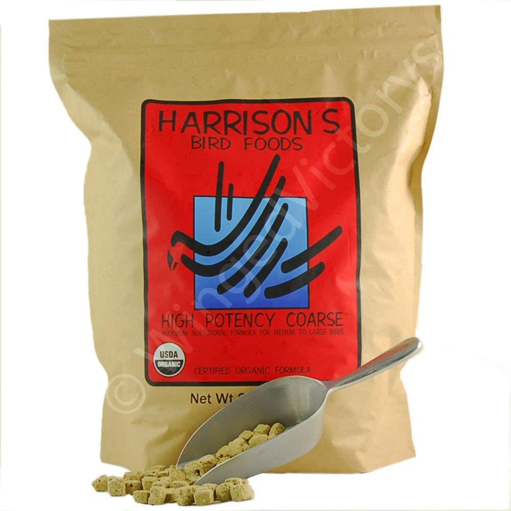 Harrison's Bird Foods High Potency Coarse 25lb by Harrison's Bird Foods