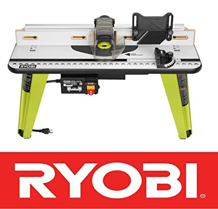 New ryobi universal router table wood working tool adjustable fence new ryobi universal router table wood working tool adjustable fence a25rt03 nib greentooth Choice Image