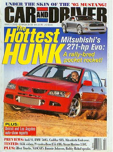 Car and Driver March 2003 - The Hottest Hunk (Vol 48 No 9)