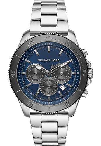 dc407c460464 Michael Kors MK8662 Theroux Chronograph Stainless Steel Men s Watch   Amazon.co.uk  Watches