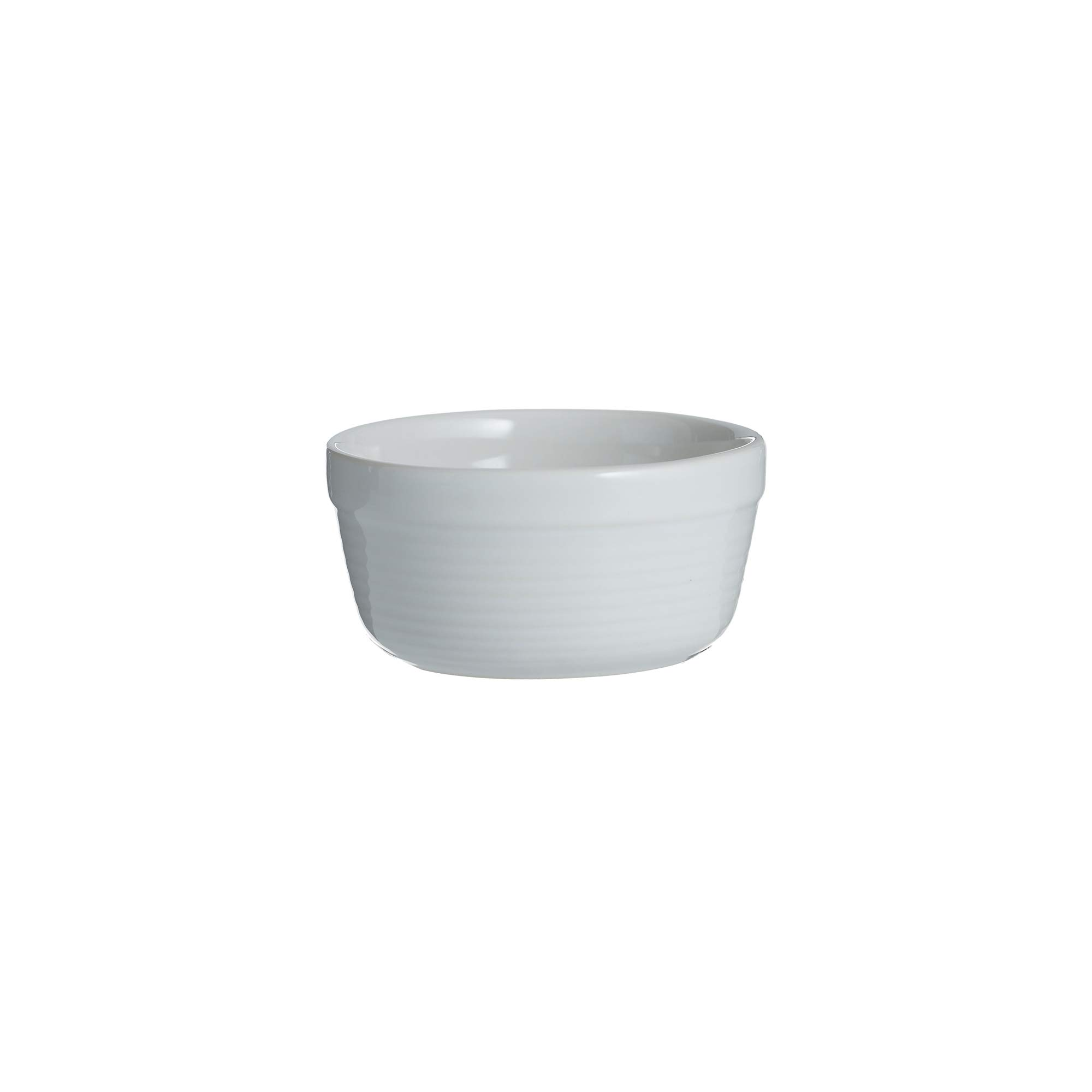 Mason Cash 2002.097 William Mason 10cm White Ramekin Dish, Stoneware
