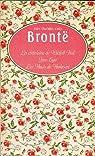 La châtelaine de Wildfell Hall - Jane Eyre - Les Hauts de Hurle-Vent par Brontë