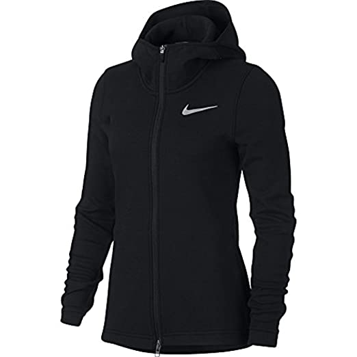 056e62c003 Amazon.com  Nike Women s Dry Showtime Basketball Hoodie  Sports ...