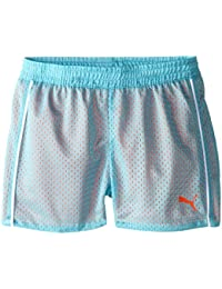 Girls' Active Double Mesh Short