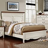 247SHOPATHOME Idf-7040Q-6PC Bedroom-Furniture-Sets, Queen, White