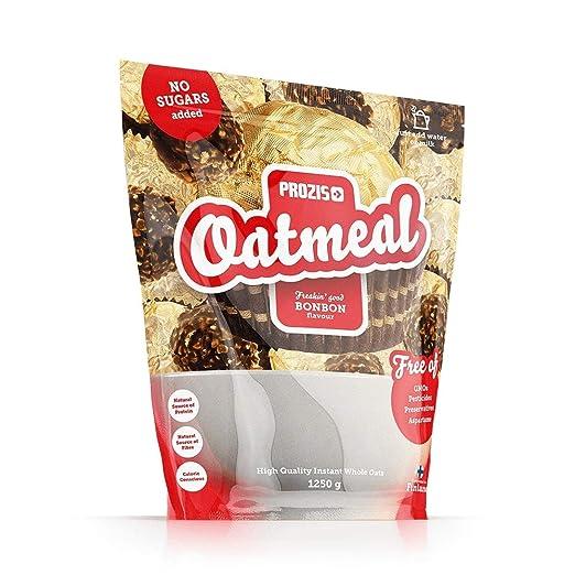Prozis Oatmeal - Avena Integral, 1250g, Sabor Tarta de queso con Fresas, 12 Dosis: Amazon.es: Salud y cuidado personal